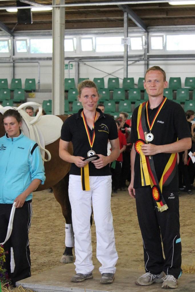 Siegerehrung Süddeutscher Meister 2015