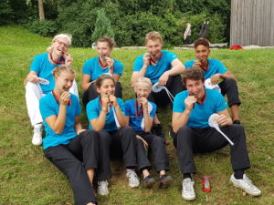 Roseck II auf den Württembergischen Meisterschaften Voltigieren in Böblingen